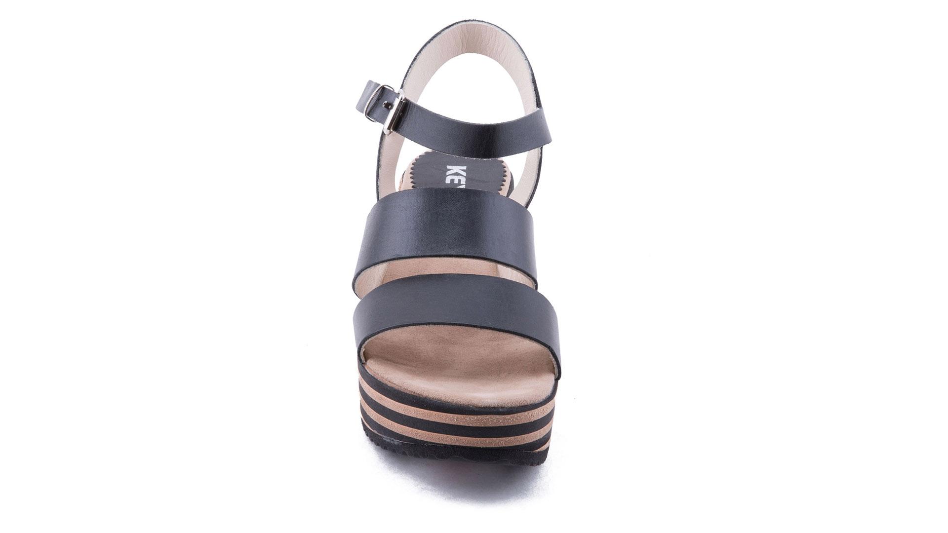 Leather and Micropourous Strips for Outsole in  EVA - POLIURETANO