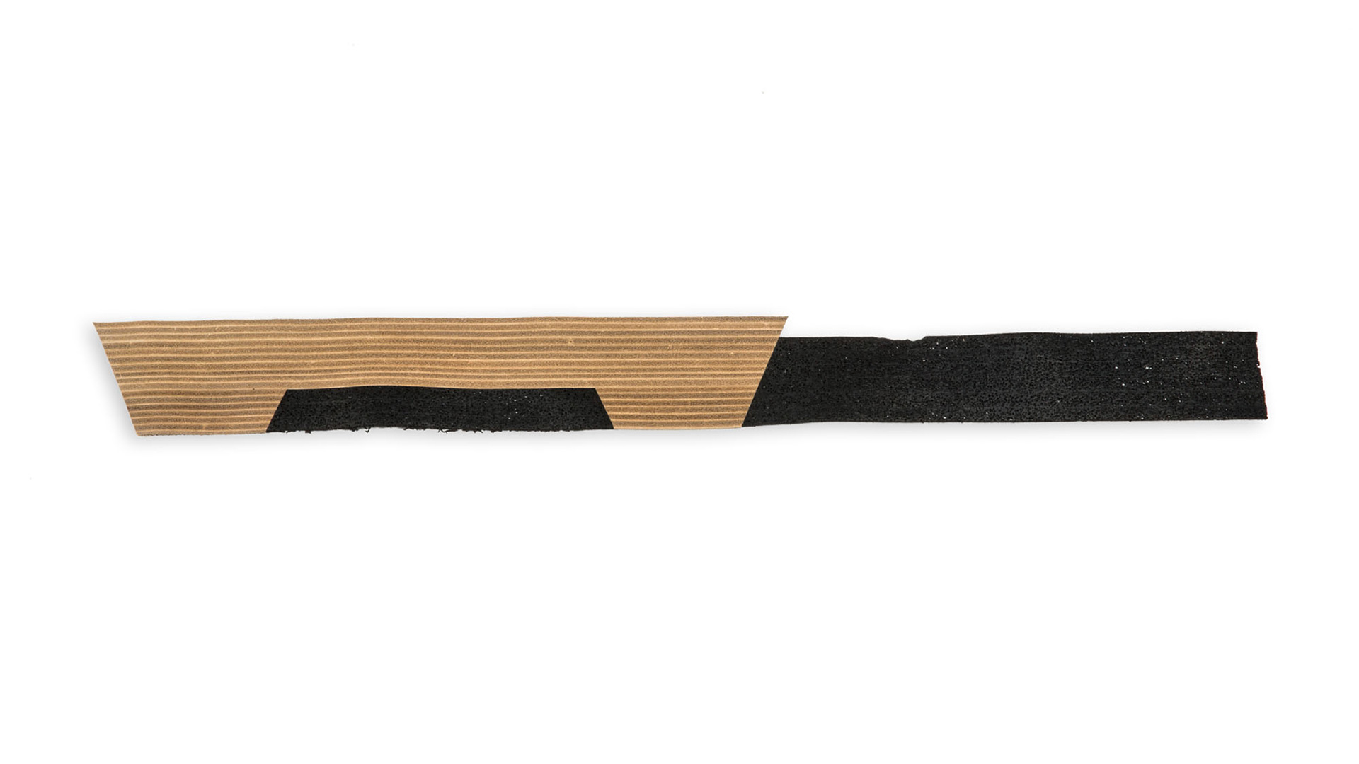 Leather and Porox Strips for Footwear.